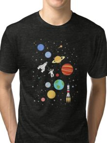 In space Tri-blend T-Shirt