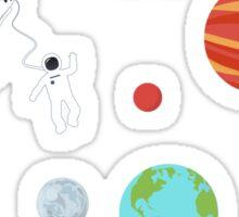 In space Sticker