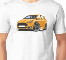Ford Focus (Mk3 Facelift) ST Orange Unisex T-Shirt