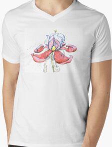 Unfolding Mens V-Neck T-Shirt