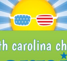 South Carolina Choose Bernie - A Future To Believe In (Sun) Sticker