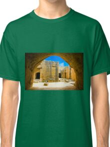 antic tombs on Cyprus Classic T-Shirt
