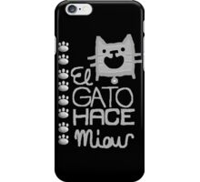Meow - CATs iPhone Case/Skin