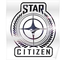 Star Citizen Logo Poster