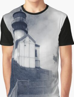 Cape Dissapointment Lighhouse - Memories Of A Lighthouse Graphic T-Shirt
