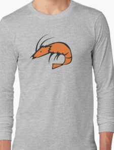 Sugawara's Shrimp Shirt Design Long Sleeve T-Shirt