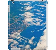 the view from the plane iPad Case/Skin