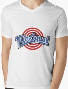 Tune Squad Mens V-Neck T-Shirt