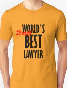 Better Call Saul - World's 2nd Best Lawyer Unisex T-Shirt
