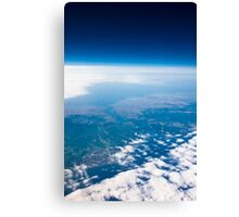 Istanbul from the space Canvas Print