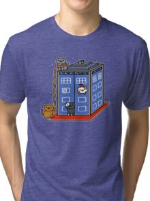 Who Atsume Tri-blend T-Shirt