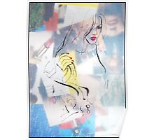 Fashion 4, A4, 2011, mixed technique Poster