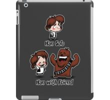 Han with Friend iPad Case/Skin