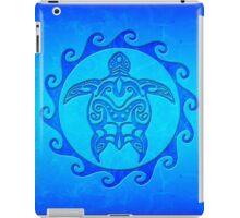 Blue Maori Turtle iPad Case/Skin
