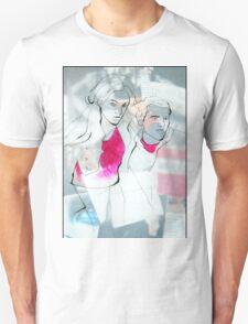 Fashion 5, A4, 2011, mixed technique Unisex T-Shirt