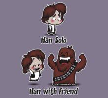 Han with Friend Kids Tee
