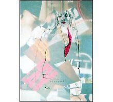 Fashion 9, A4, 2011, mixed technique Photographic Print