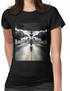 Window Reflection,Top Ryde,Australia 2014 Womens Fitted T-Shirt