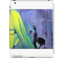 Portrait in glasses, 2011, 120-80cm, oil on canvas iPad Case/Skin