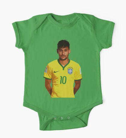 Neymar - Brazil 2014 One Piece - Short Sleeve