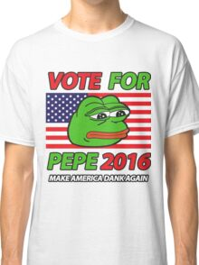 Vote Pepe Sad Frog 2016 Classic T-Shirt