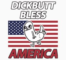 Dickbutt Bless America Baby Tee