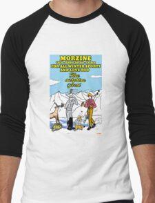 the surprise guest ( new version) Men's Baseball ¾ T-Shirt