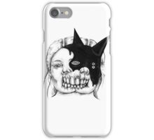 Evil on Your Mind 03 iPhone Case/Skin