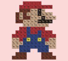 Periodic Mario Table Kids Tee