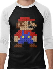 Periodic Mario Table Men's Baseball ¾ T-Shirt