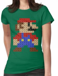 Periodic Mario Table Womens Fitted T-Shirt