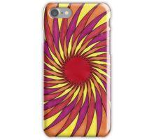 Geometric Grafic Color Cirkle Sun iPhone Case/Skin