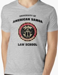 University of American Samoa Mens V-Neck T-Shirt