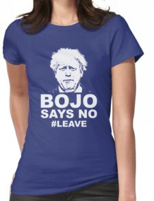 Bo Jo says no ukip Womens Fitted T-Shirt