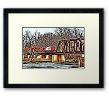 Engine Number 4429 Framed Print