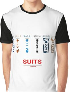 SUITS |  SUITS FAMILY  Graphic T-Shirt