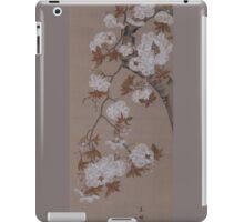 Hirose Kain - Cherry Blossoms . Japanese Still Life  iPad Case/Skin