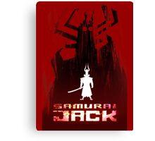 Samurai Jack is Back Canvas Print