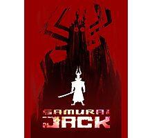 Samurai Jack is Back Photographic Print