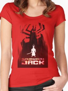 Samurai Jack is Back Women's Fitted Scoop T-Shirt