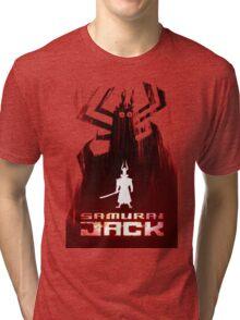 Samurai Jack is Back Tri-blend T-Shirt