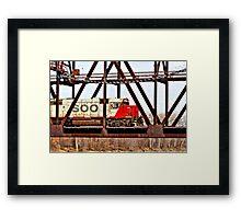 Locomotive Number 4429 Framed Print