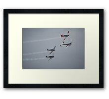 The Sound Of Round,Temora Airshow,Australia 2008 Framed Print