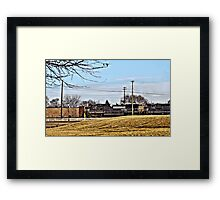 Engine Number 9731 Framed Print