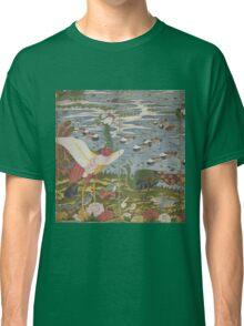 ITO Jakuchu - Animals in the Flower garden.  Japanese Landscape  Classic T-Shirt