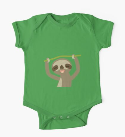 Smiling sloth One Piece - Short Sleeve