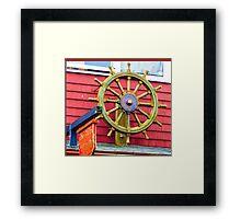 Steuerrad - Steering Wheel Framed Print