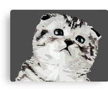 The Cat's Canvas Print