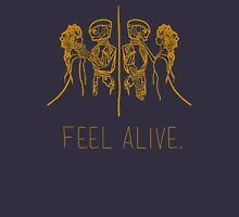 Feel Alive (Gold) Unisex T-Shirt