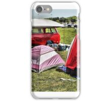 Family Camping iPhone Case/Skin